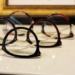 UnaHome Glasses - Metal Arm Round Glasses