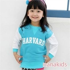 nanakids - Kids Color-Block Lettering Sweatshirt