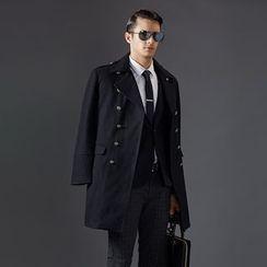 Bingham - Double-Breasted Coat