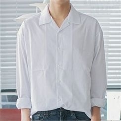 MITOSHOP - Loose-Fit Cotton Shirt