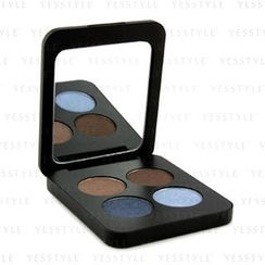 Youngblood - Pressed Mineral Eyeshadow Quad - Glamour Eyes