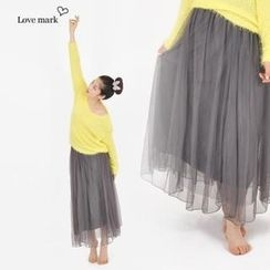 lovemark - Tulle Maxi Skirt