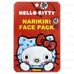 Sanrio - Narikiri Face Pack Facial Beauty Mask (Hello Kitty) (Hyottoko)