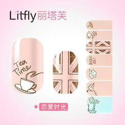 Litfly - Nail Sticker (D1019)