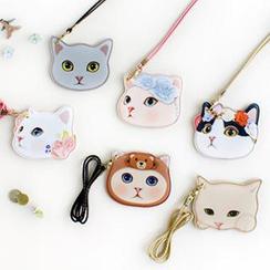 Full House - Cat Card Holder