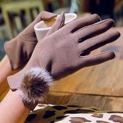 羅煞秀 - 球球裝飾手套