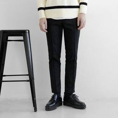 Seoul Homme - Wool-Blend Dress Pants