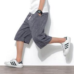 百高 - 宽腿七分裤