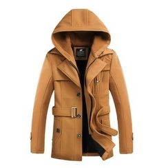 百高 - 可拆風帽大衣