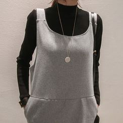 NANING9 - High-Neck Sweater