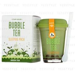 Etude House - Bubble Tea Sleeping Pack (Green Tea)