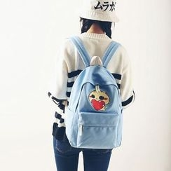 Seok - Cat Print Backpack