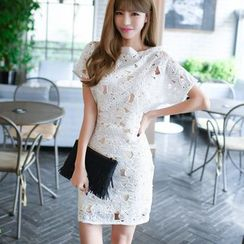 Dowisi - Perforated Lace Dress