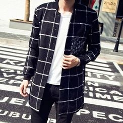 Riverland - Check Snap Button Coat