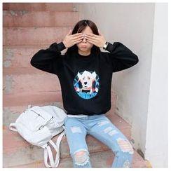 SUYISODA - Print Sweatshirt