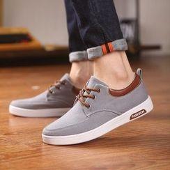 ESMODO - Contrast Trim Casual Shoes
