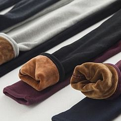 Rose Shop - Fleece-lined Leggings