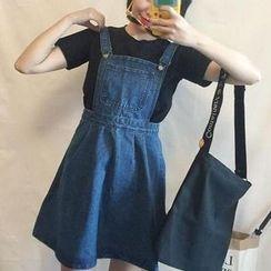 Dasim - Denim Jumper Skirt