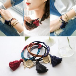 HEDGY - Tassel Two-Tone Hair Tie