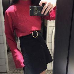 IndiGirl - Hoop-Accent Miniskirt