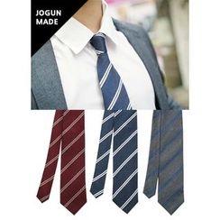 JOGUNSHOP - Striped Silk Blend Necktie