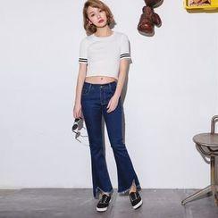Yumerakka - 靴型牛仔裤
