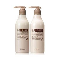 NATURANCE fromn - Moisture Veil Set: Body Cleanser 300ml + Body Lotion 300ml