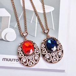 Best Jewellery - Rhinestone Pendant Necklace