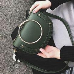 Youshine - Metal Circle Handle Crossbody Bag