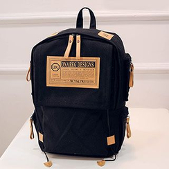 Sweet City - Applique Canvas Backpack