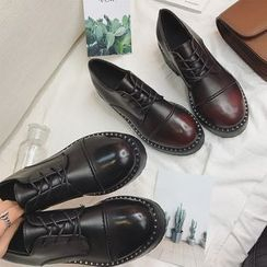 Hipsole - Buckled Patent Loafers