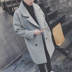 Arthur Look - Notch Lapel Double Button Coat