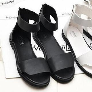 SouthBay Shoes - Zip-Back Sandals