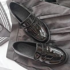 Nikiki - Faux-Leather Loafers