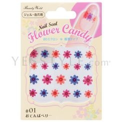 LUCKY TRENDY - Flower Candy Nail Seal (#01)