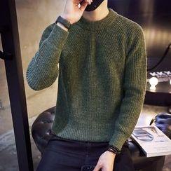 Harvin - Plain Chunky Sweater