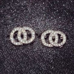 Nanazi Jewelry - Rhinestone Earrings