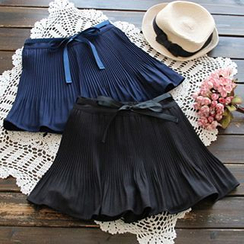 YOYO - Accordion Pleated Chiffon Skirt