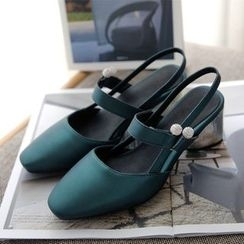 JY Shoes - Slingback Pumps