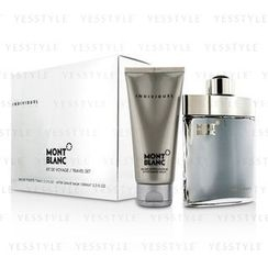 Mont Blanc - Individuel Coffret: Eau De Toilette Spray 75ml/2.5oz + After Shave Balm 100ml/3.3oz
