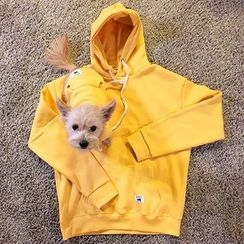 Seoul Homme - Couple Pet Matching Hooded Pullover