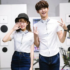 JORZ - Couple Matching Short-Sleeve Shirt