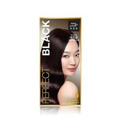 miseenscéne - Perfect Color Cream For Gray Hair (3N Black)