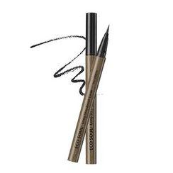 The Saem - Eco Soul Long Stay Brush Liner (#01 Black)
