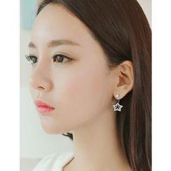 soo n soo - Set of 3: Star Earrings (Single)