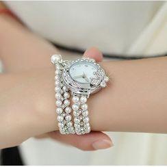 Periwinkle - 水鑽珠飾手鍊手錶