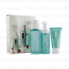 Clinique - Anti-Blemish Solutions 3-Step System: Cleansing Foam + Clarifying Lotion + Clearing Treatment