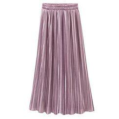AGA - Pleated Maxi Skirt