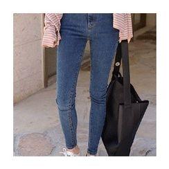 migunstyle - High-Waist Skinny Jeans