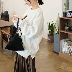 mimi&didi - Printed Fleece-Lined Sweatshirt